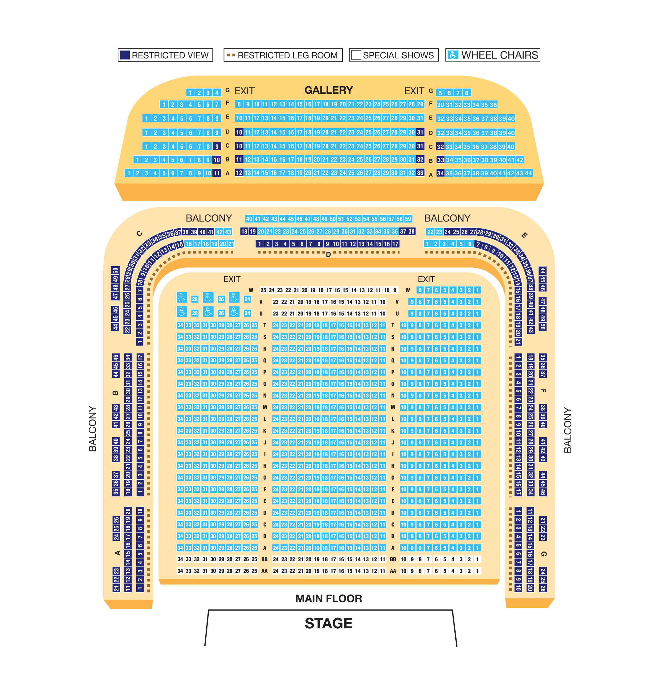 Hull City Hall Standard Seating Plan Hull New Theatre Hull City Hall