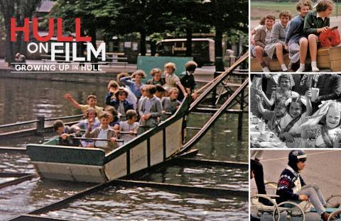 Hull on Film - childhood