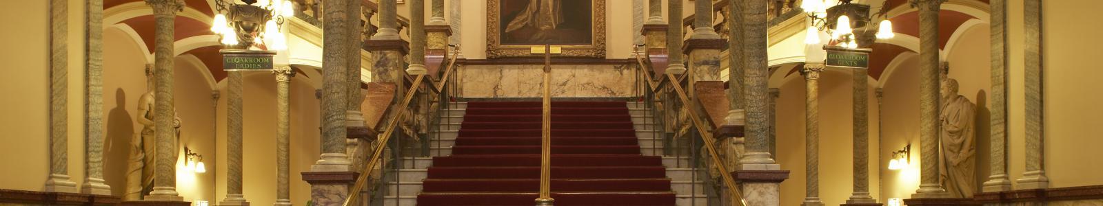 Hull City Hall main staircase
