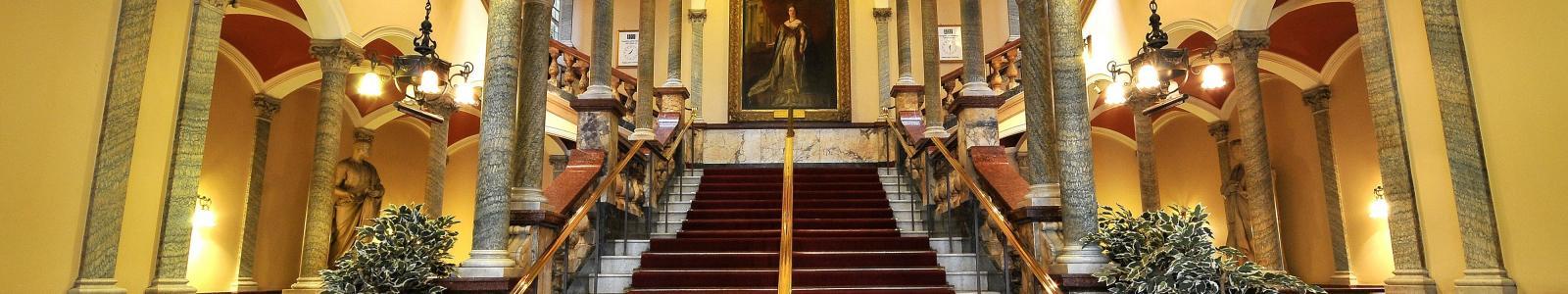Hull Ciity Hall main staircase