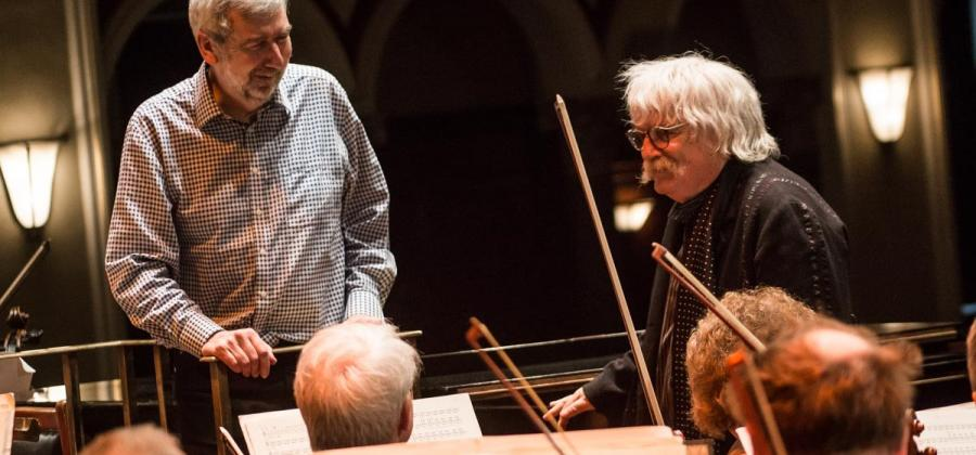 Sir Karl Jenkins with Hull Philharmonic Orchestra